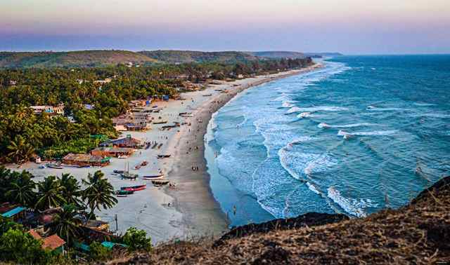 Goa Contact Festival at Arambol beach